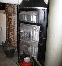 american standard sunbeam old coal furnace gravity hot air [ 768 x 1024 Pixel ]