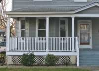 Porch Railing Height, Building code vs curb appeal