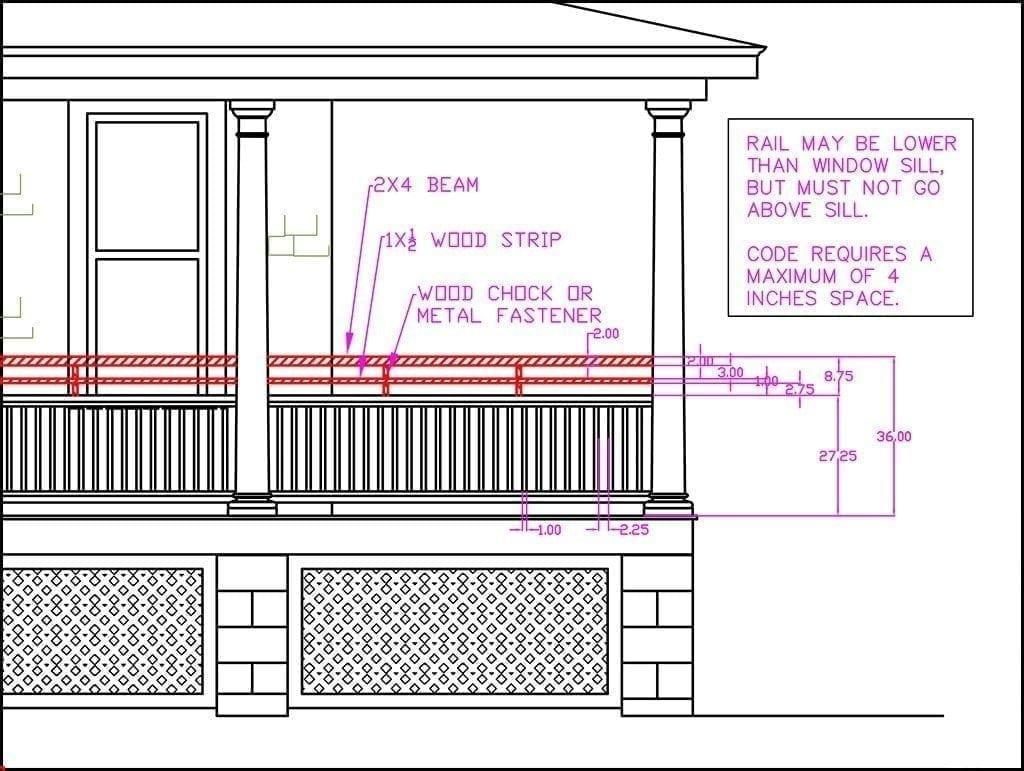 paint porch railing