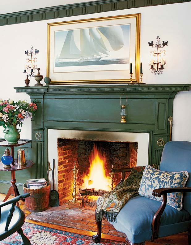 The History Of The Fireplace Old House Journal Magazine