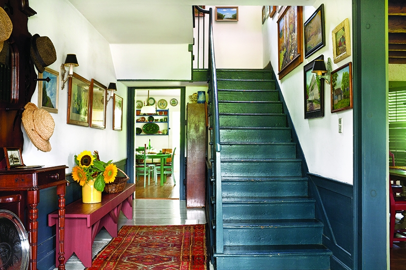 Early Staircases Winder Box Spiral Old House Journal Magazine | Designs Of Stairs Inside Small House | Stone Tiles | Decorating Ideas | Stair Treads | Space | Staircase Makeover