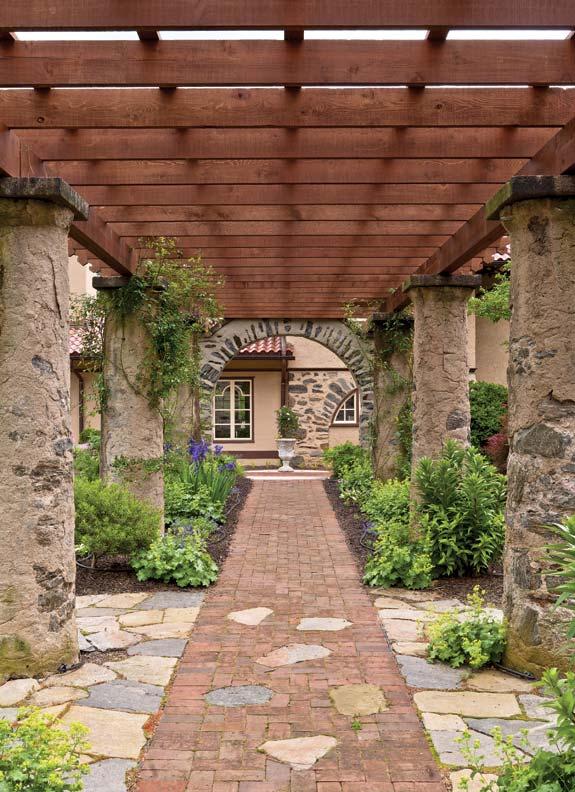 Pergola Designs For Old House Gardens Restoration
