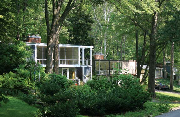 The Modernist Enclave Of Hollin Hills In Northern Virginia