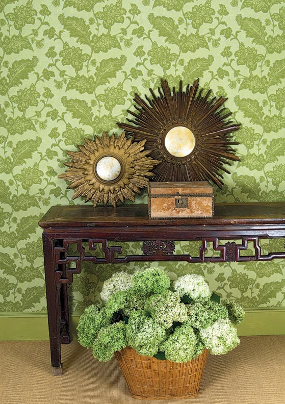 Guide Reproduction Wallpaper - House Journal Magazine