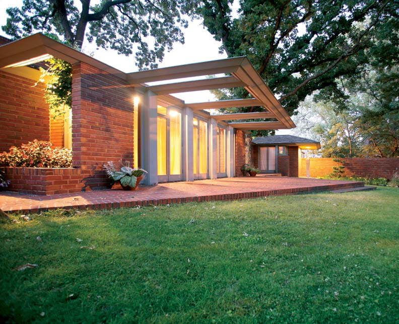 Restoring Frank Lloyd Wrights Willey House Restoration