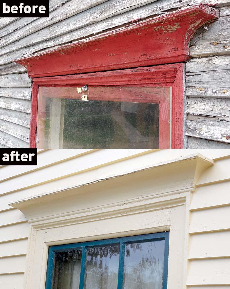 How To ReCreate a Georgian Window Pediment  Old House