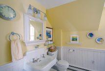 Cottage Bathroom with Beadboard