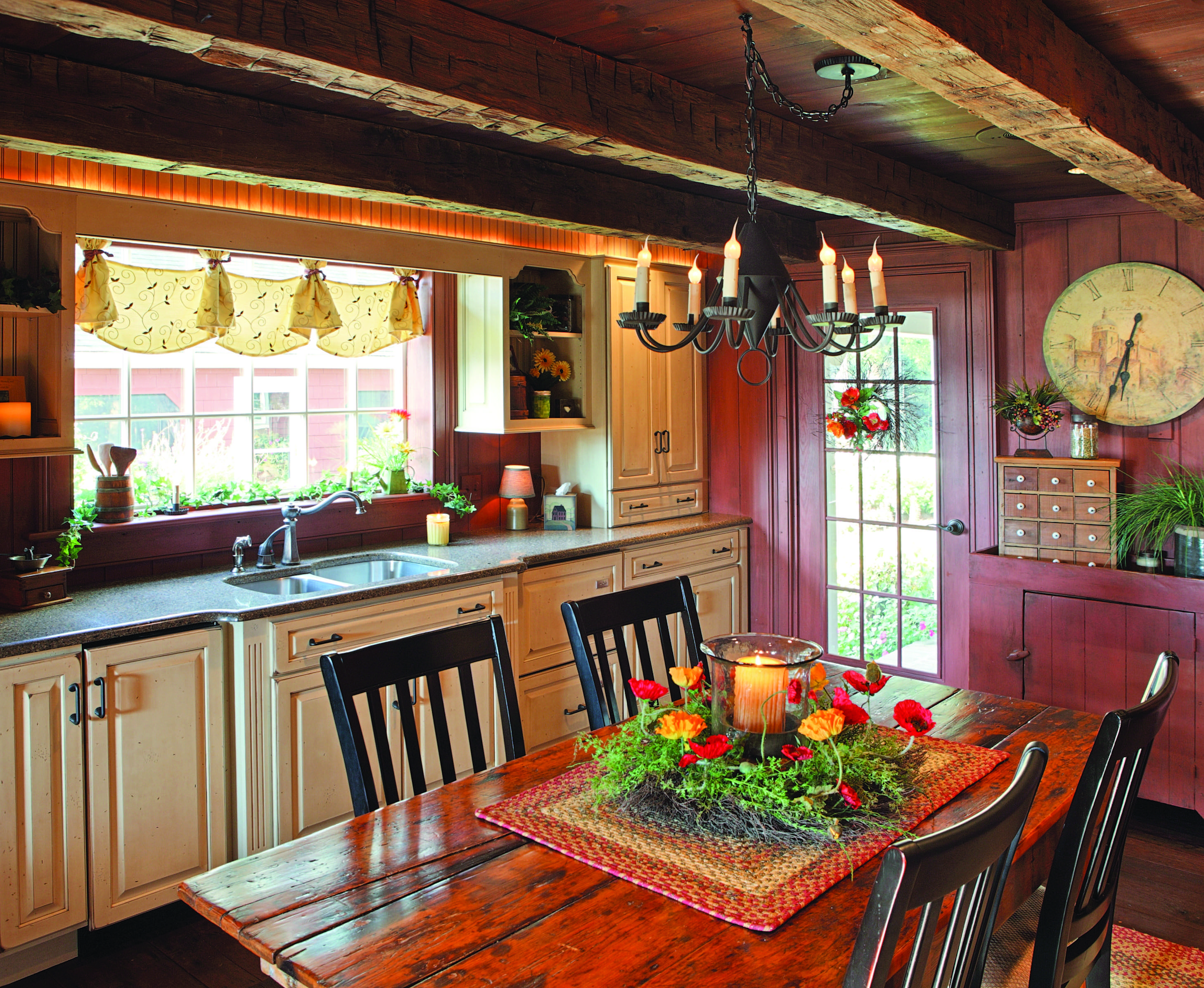 Cozy Kitchens  Restoration  Design for the Vintage House