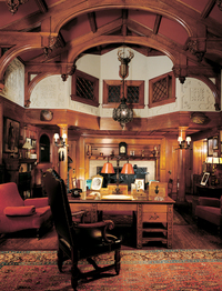 Richardsonian Romanesque Architecture  Interiors  Old House Restoration Products  Decorating