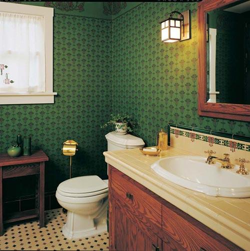 Modest Arts Amp Crafts Bungalow Bathroom Restoration