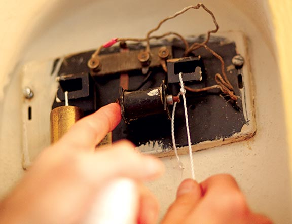 electrical diagram for house wiring boiler s plan how to repair vintage door chimes - old restoration, products & decorating