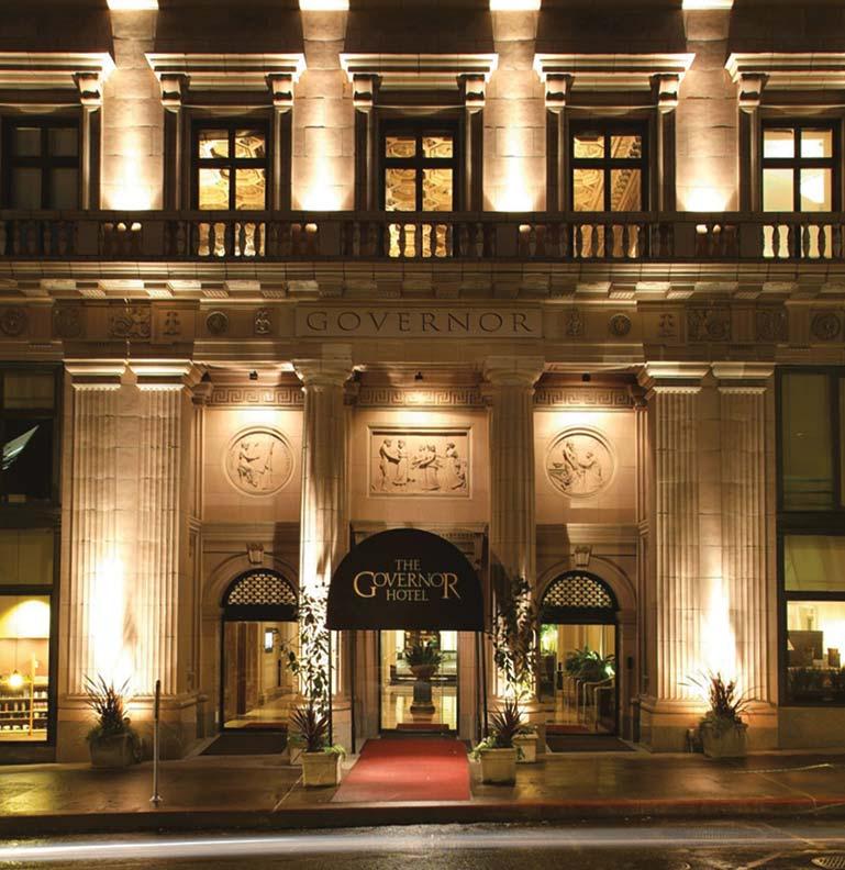Historic Retreats Portlands Governor Hotel  Old House