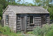 Old Weathered Garden Shed