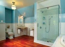 Colonial Bathroom Tile Ceiling