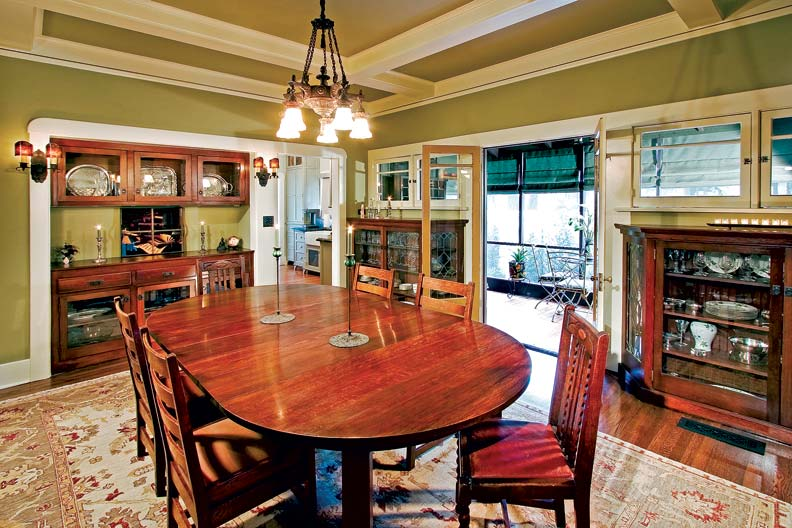 Craftsman Makeover for a California Bungalow  Restoration