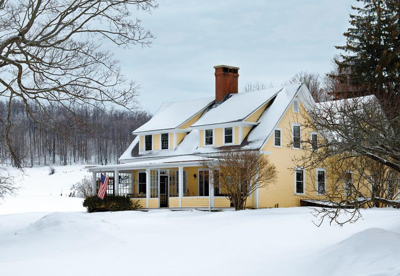 A Vermont Farmhouse Evolves Over Time Restoration Amp Design For The Vintage House Old House