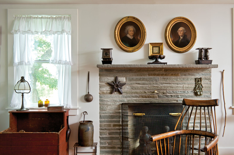 The Vernacular In A Greek Revival Farmhouse Restoration
