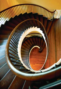 Early Staircases: Winder, Box & Spiral - Old House ...