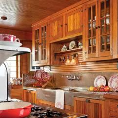 Arts & Crafts Kitchens Unique Kitchen Cabinets Restoring An Adirondack Camp - Restoration & Design For ...