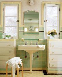 Old House Small Bathroom Tile Ideas