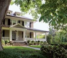 American Foursquare House Colors Exterior