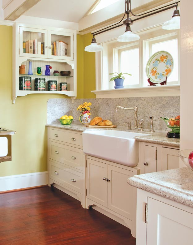 best countertops for kitchen ashley furniture tables the countertop choices old house kitchens while not a traditional material granite s durability and range of colors work well in historic