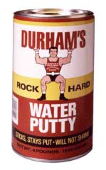 Durhams Water Putty Dry Time