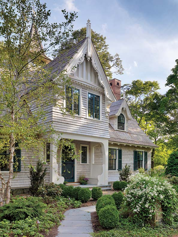Rescuing a Shingle Style Carriage House  Restoration