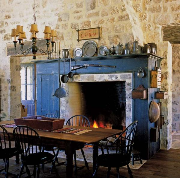 Rustic Kitchen Texas Farmhouse - Restoration