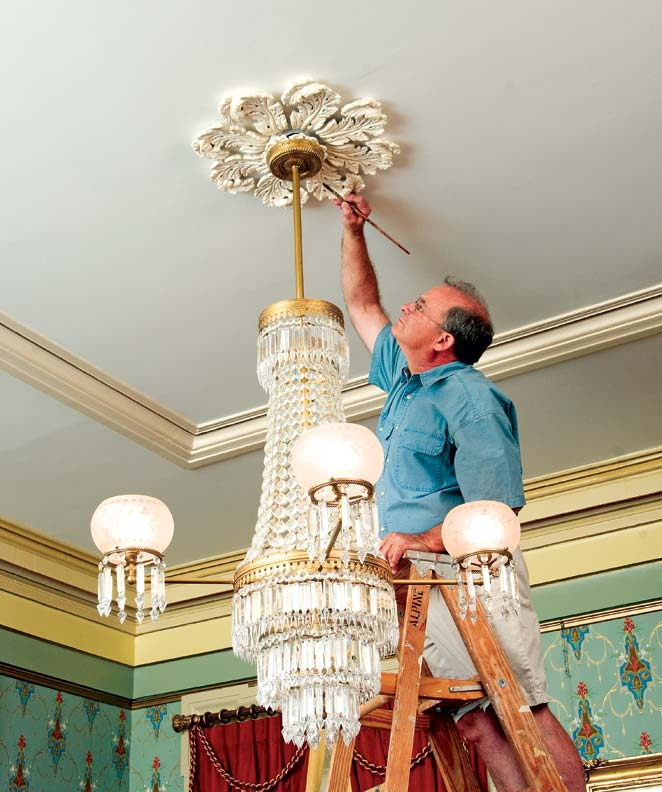 How To Decorate with Ceiling Medallions  Old House