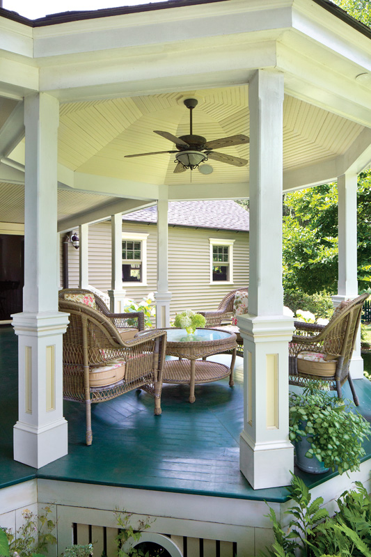Deck Paint versus Stain  Restoration  Design for the