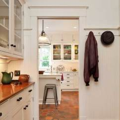 Kitchen Nook Lighting Prefab Countertops Efficient Makeover For An Early 20th-century - Old ...