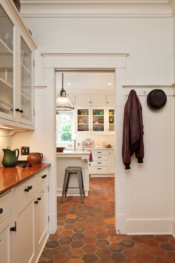 kitchen nook lighting pull down cabinets for the disabled efficient makeover an early 20th-century - old ...