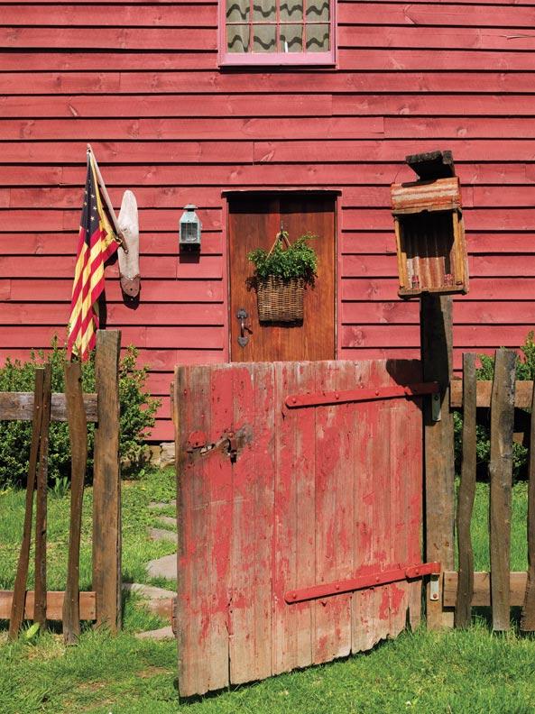 Folk Art in a Reproduction Saltbox  Restoration  Design for the Vintage House  Old House Online
