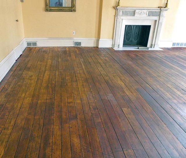 Hand Scraped Wood Floor