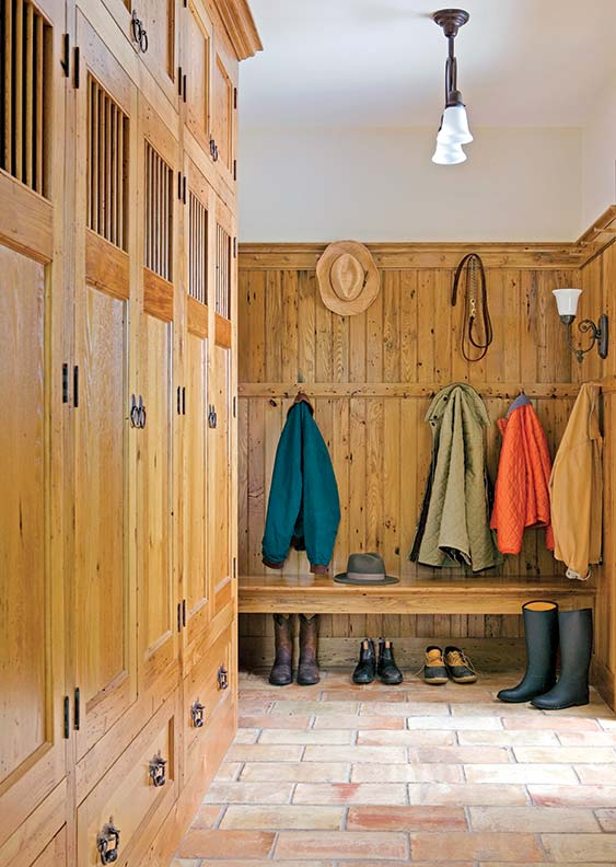 outdoor kitchens plans kitchen stoves how to design a traditional mudroom - old house journal ...