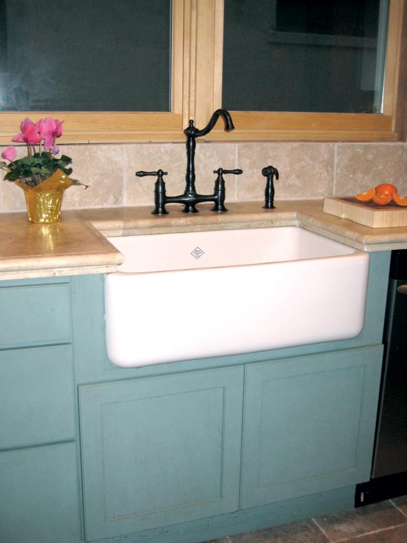 farmers sinks for kitchen moen faucets home depot adventures in installing a sink - old house ...
