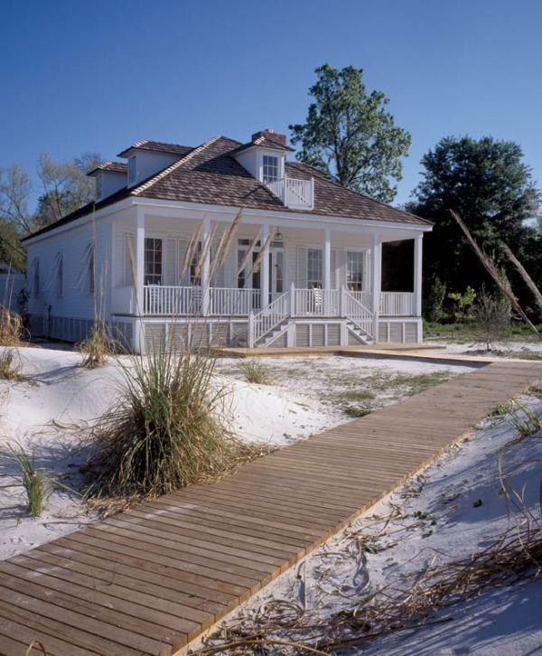 Simple Creole Beach Cottage - Restoration & Design