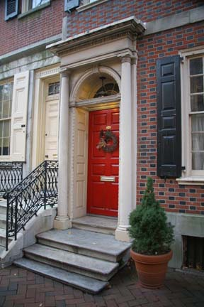 kitchens and baths solid wood kitchen tables row houses of society hill in philadelphia, pennsylvania ...