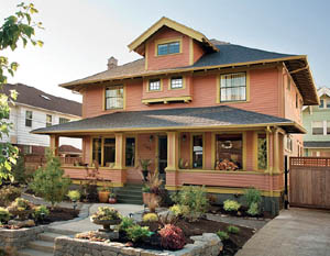Colorful Craftsman - Restoration & Design Vintage