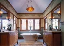 Arts and Crafts Style Bathroom