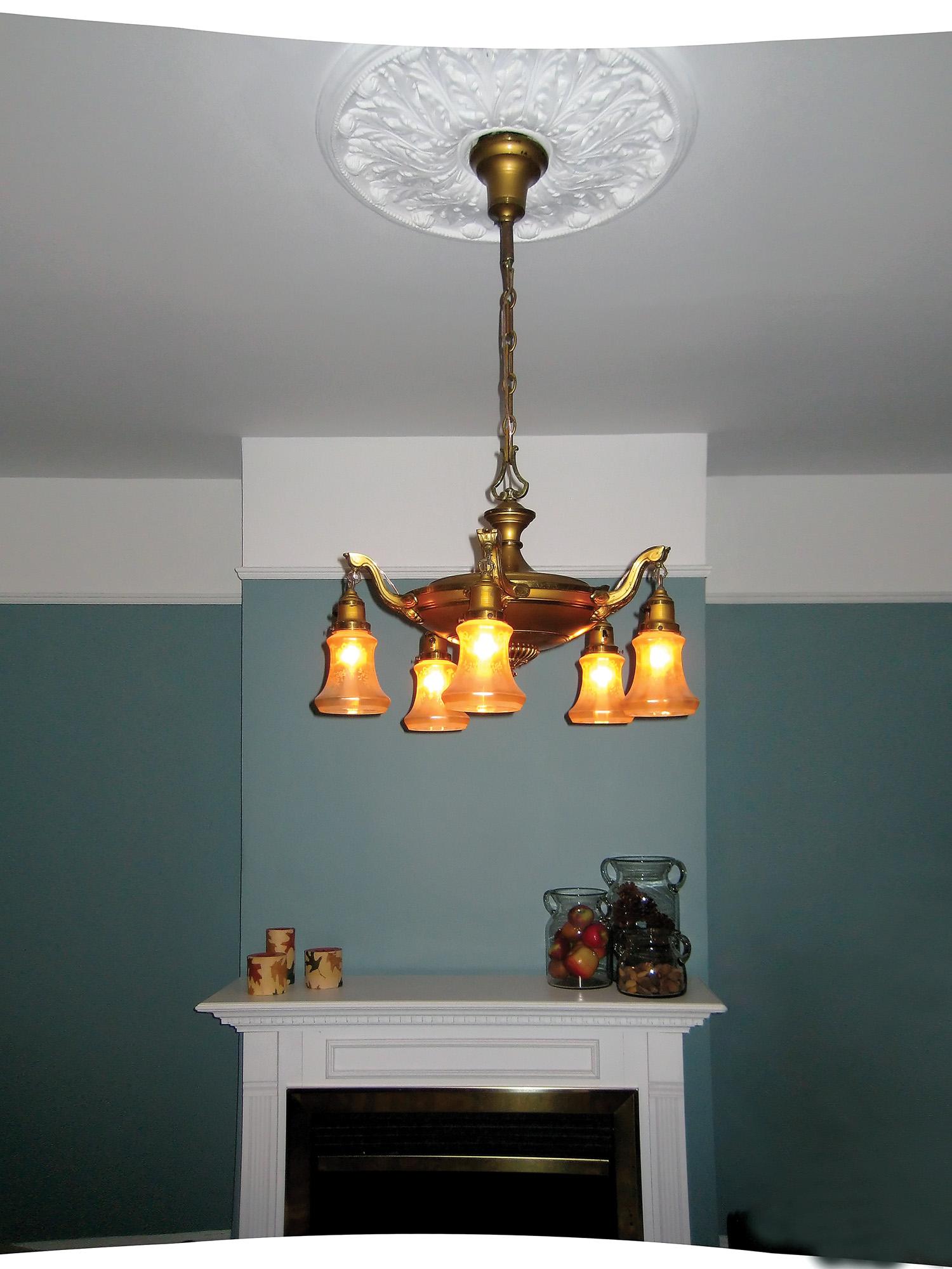 Household Wiring Light Fixture
