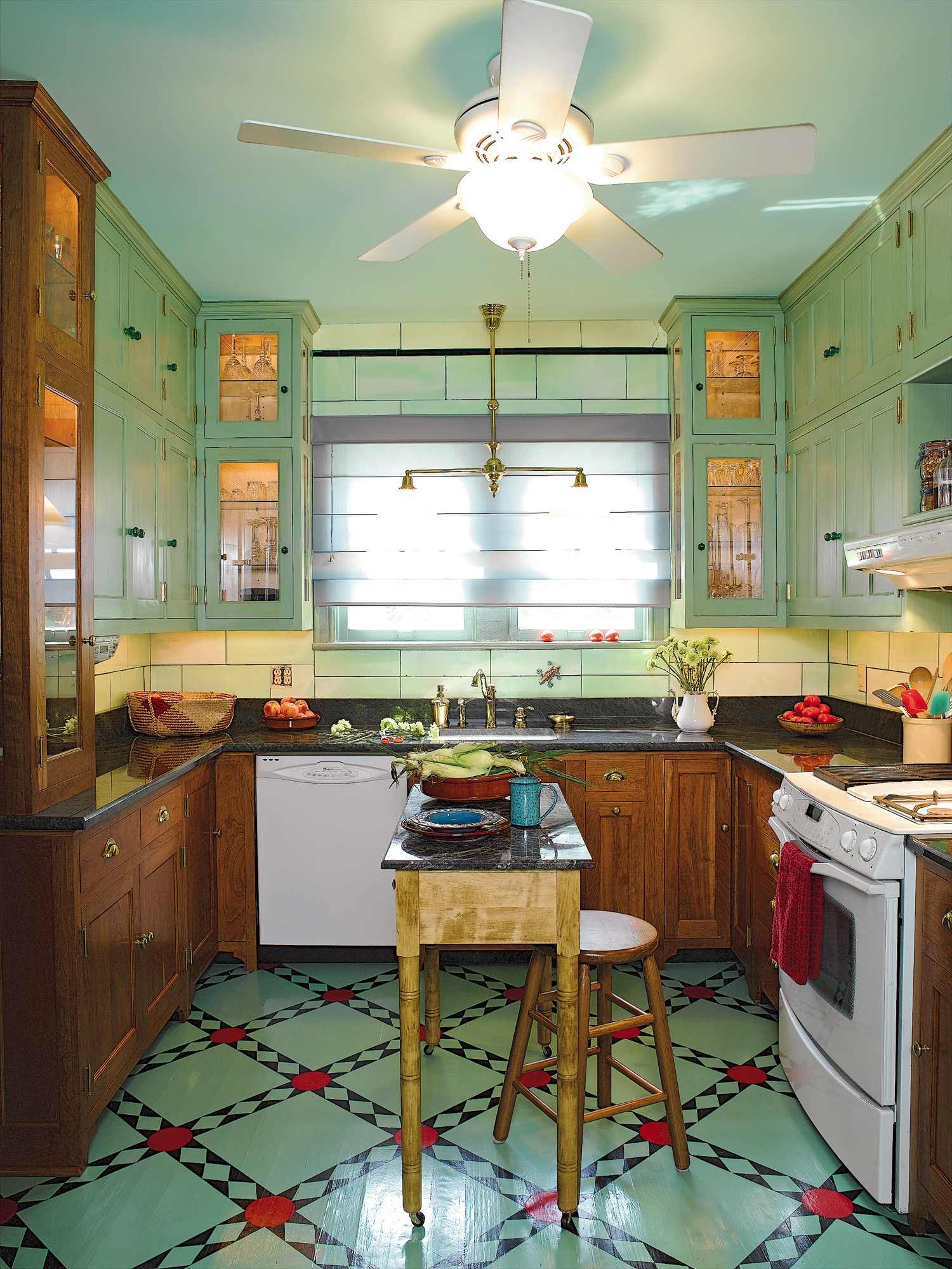 Traditional Painted Floors  Restoration  Design for the