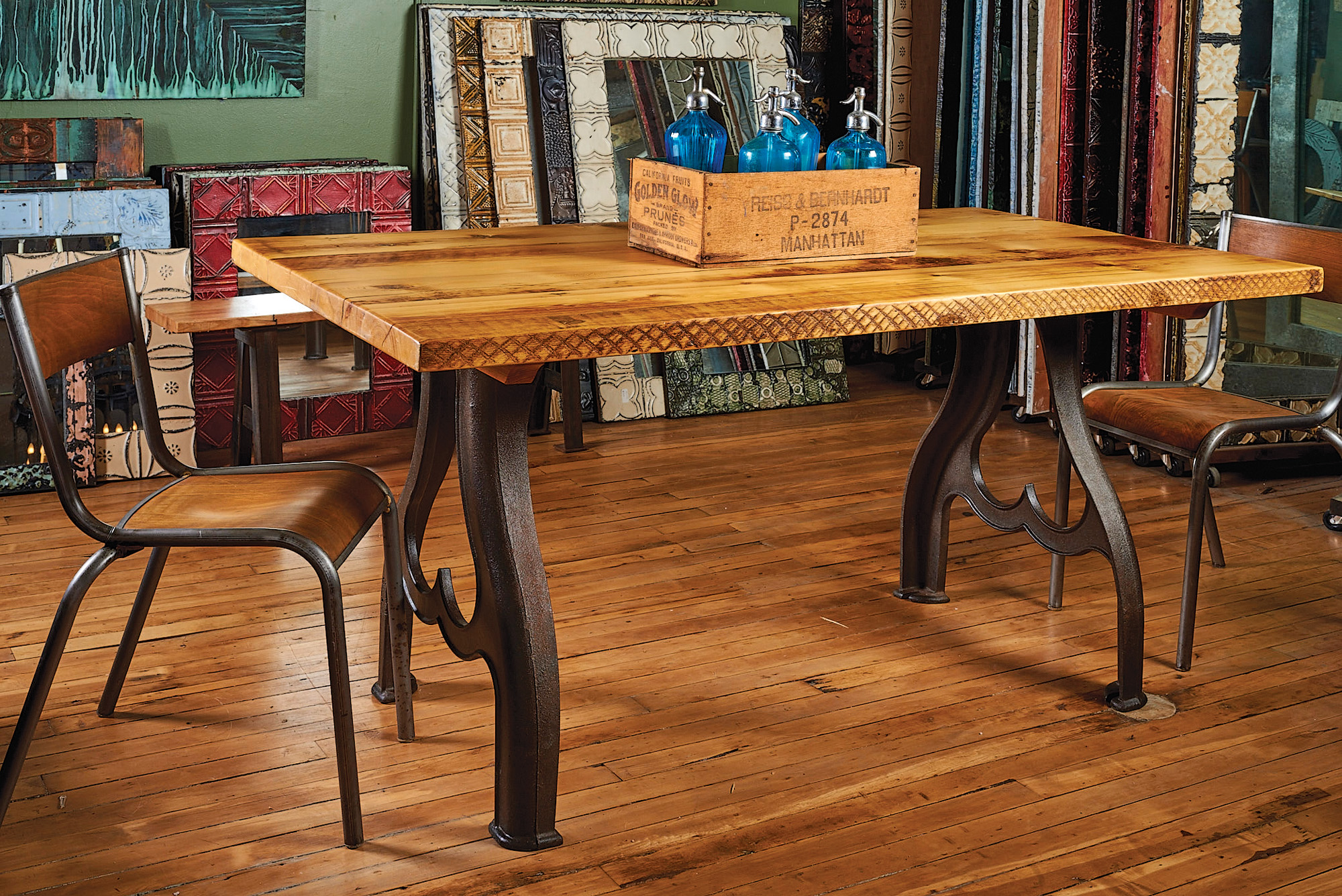 Reclaimed Wood Tables  Restoration  Design for the