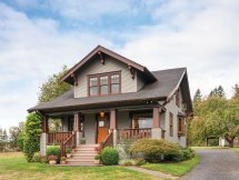 Restored Craftsman Bungalow House Simplified