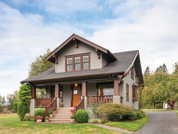 Restored Craftsman House Simplified - Restoration & Design