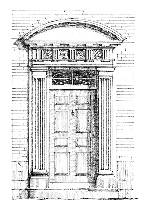 Door Styles In Early America Restoration Amp Design For The Vintage House Old House Online