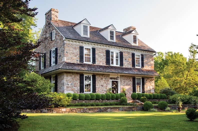 Architect Peter Zimmermans Stone Farmhouse Restoration