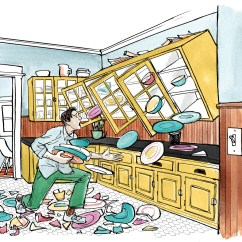 Order Kitchen Cabinets Online Chimney Without Exhaust Pipe A Fix For Falling - Restoration & Design The ...
