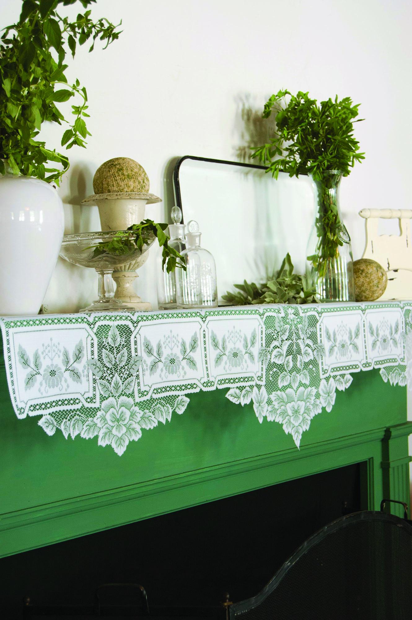 Victorian Mantel Scarves  Restoration  Design for the Vintage House  Old House Online